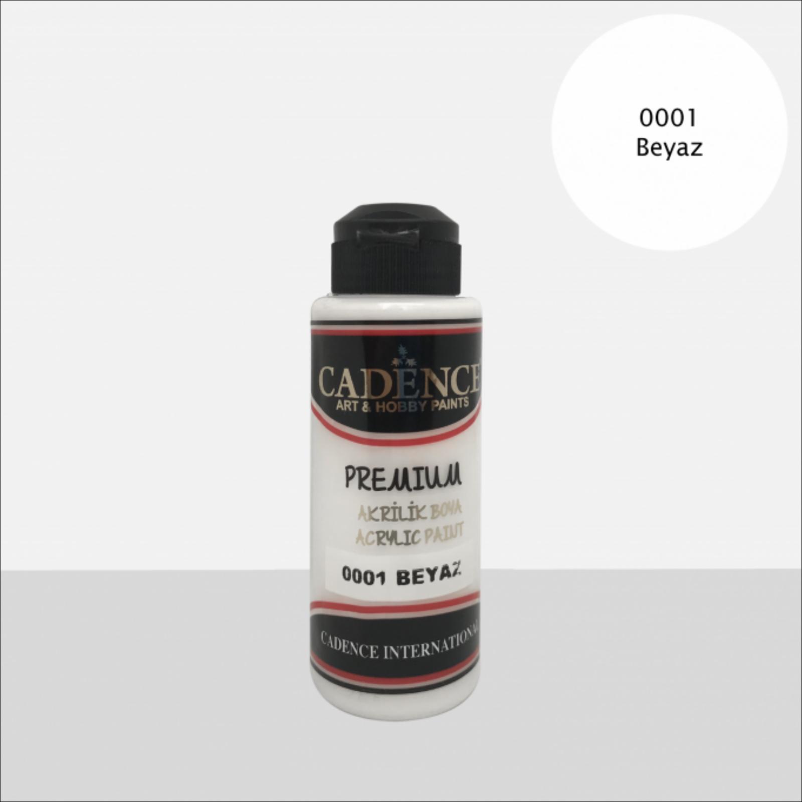 Premium akrilfesték [White] 250 ml