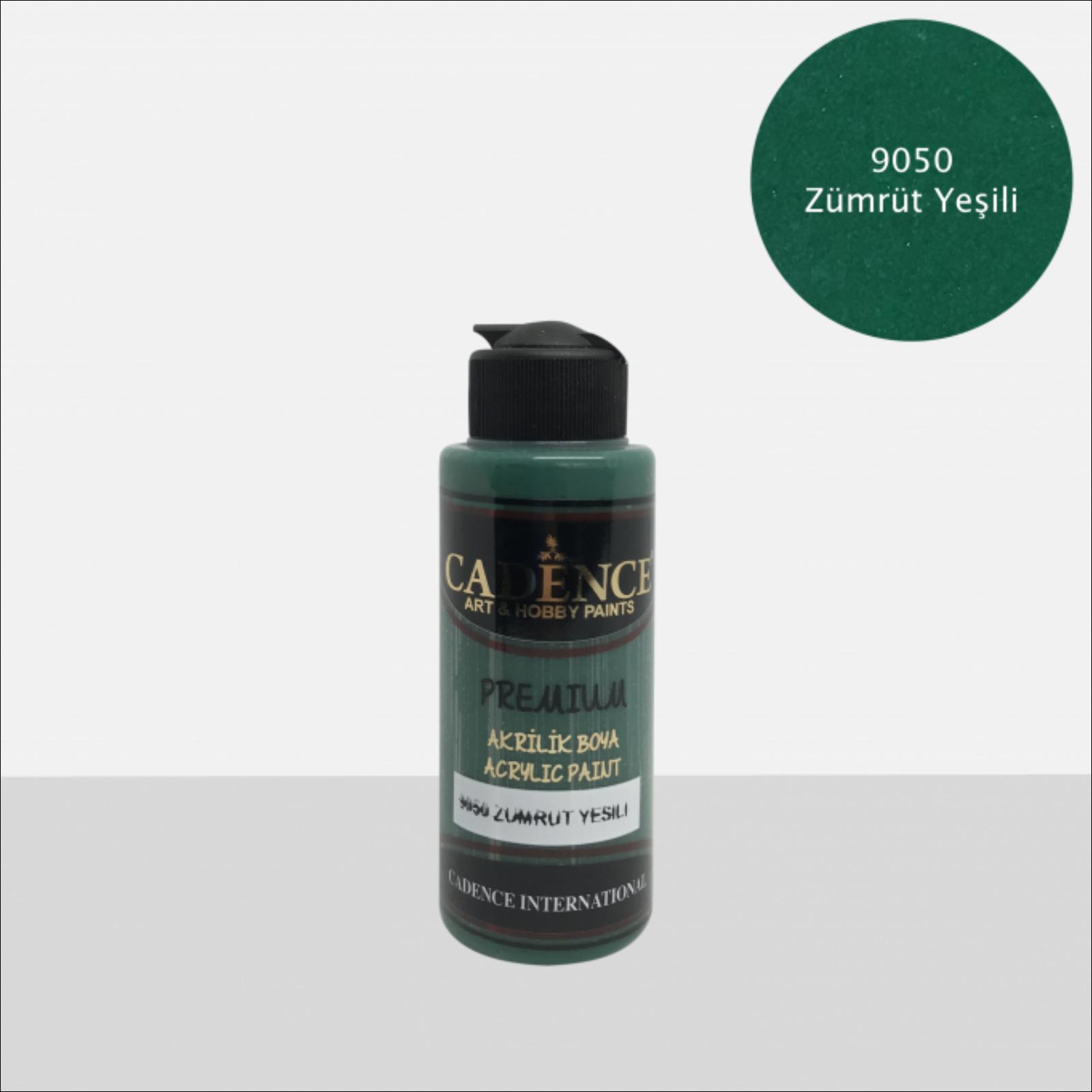 Premium akrilfesték [Emerald green] 70ml