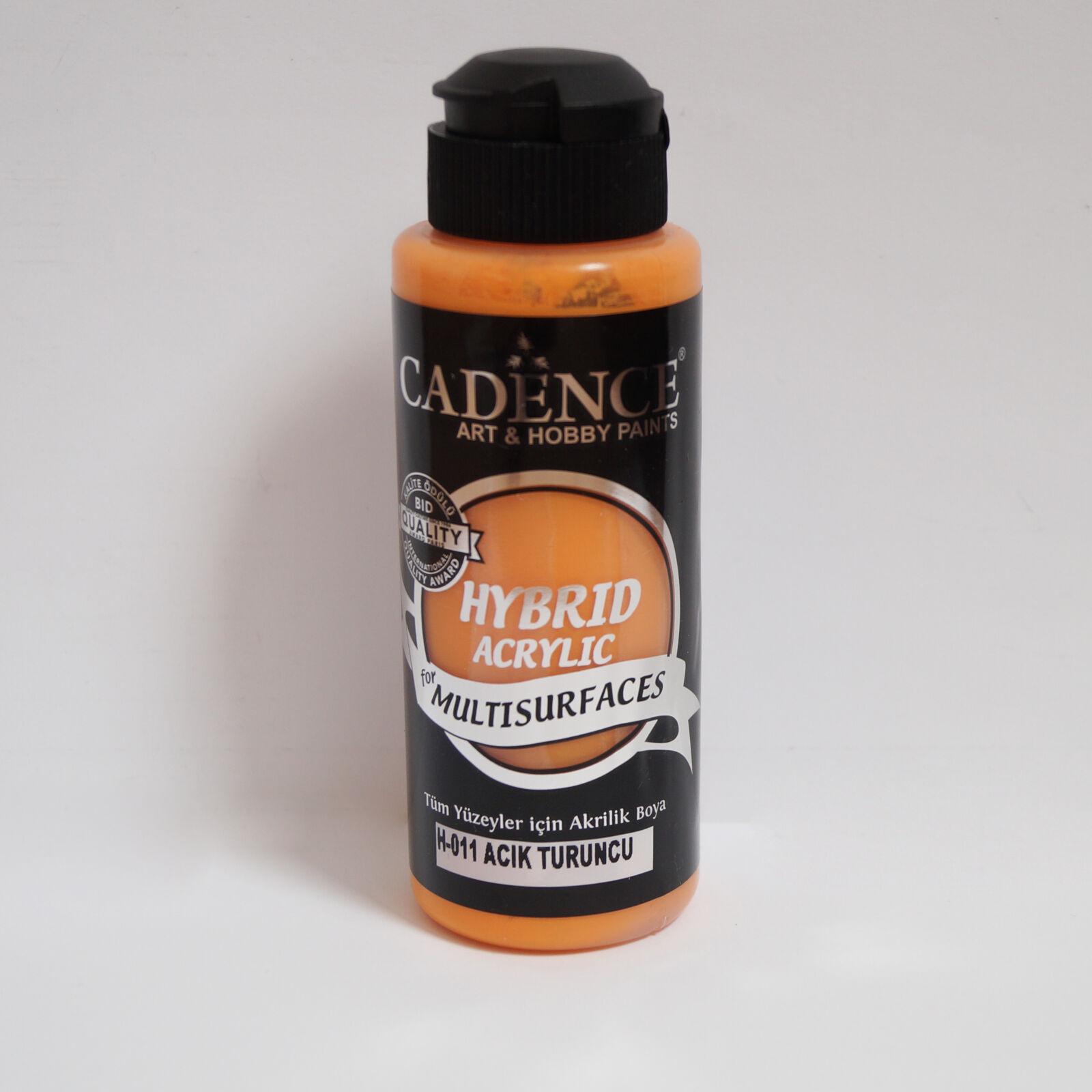 HYBRID Akrilfesték [Light Orange] 120 ml