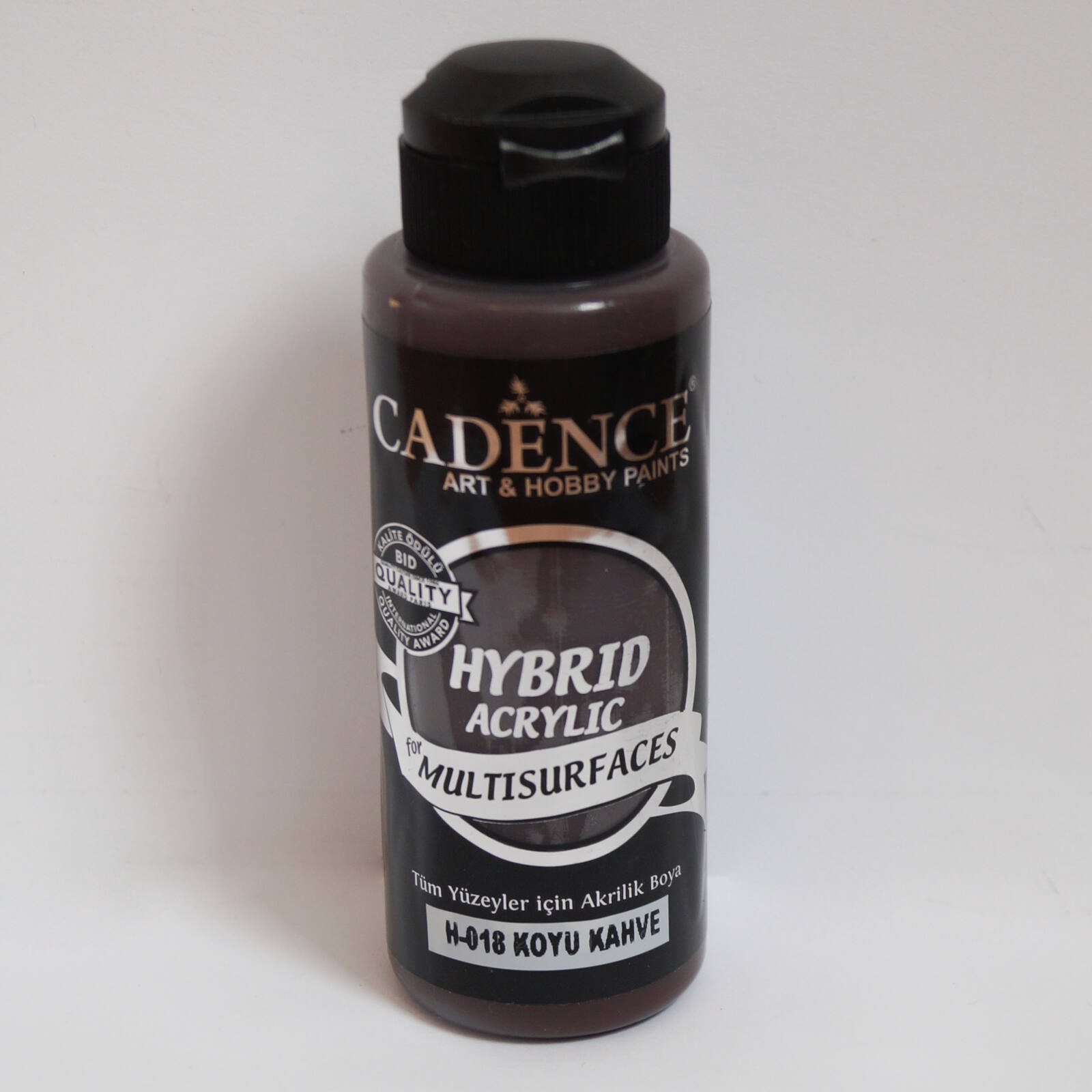 HYBRID Akrilfesték [Dark Brown] 120 ml