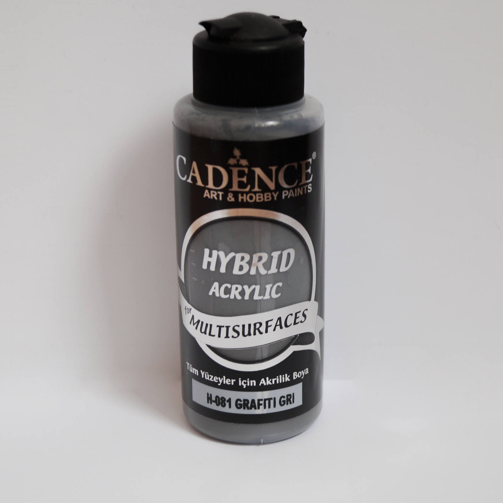 HYBRID Akrilfesték [Grafiti Gray] 120 ml