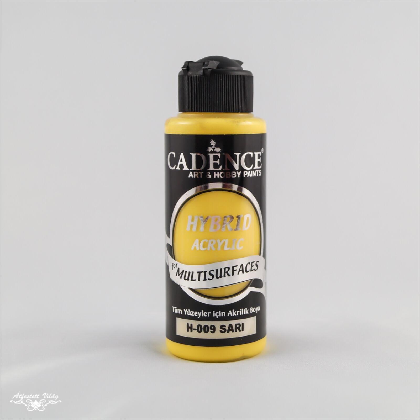 HYBRID Akrilfesték [Yellow] 120 ml