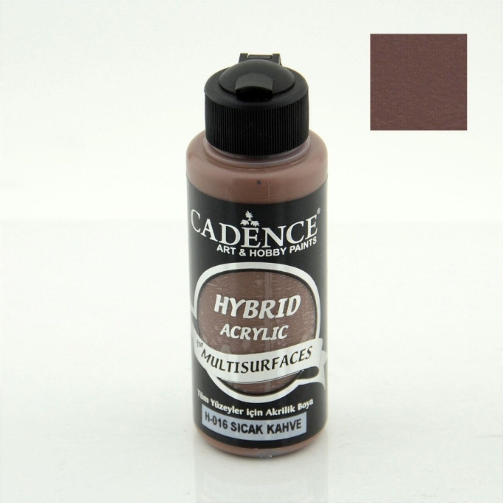 HYBRID Akrilfesték [Warm Brown] 120 ml