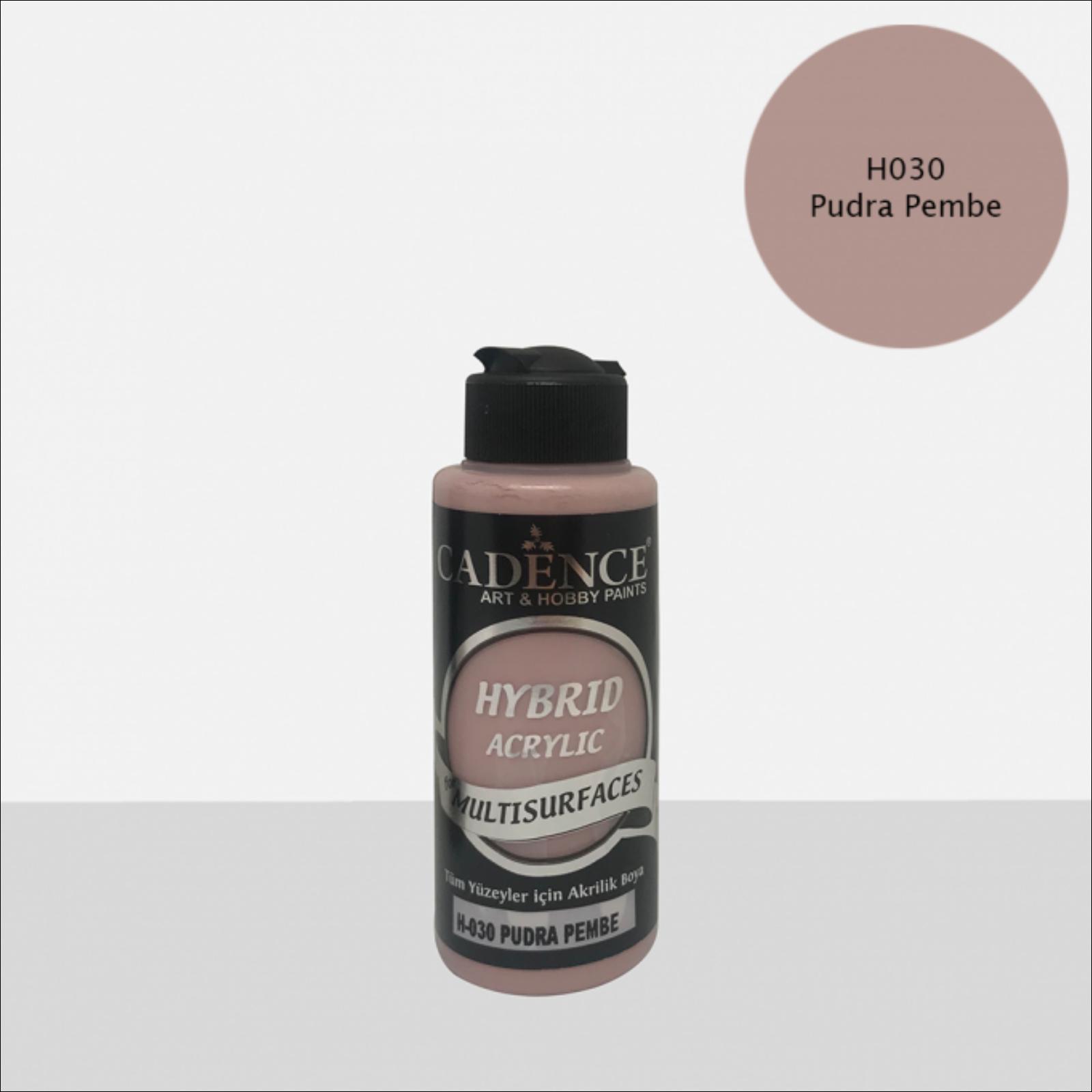 HYBRID Akrilfesték [Powder pink] 120 ml
