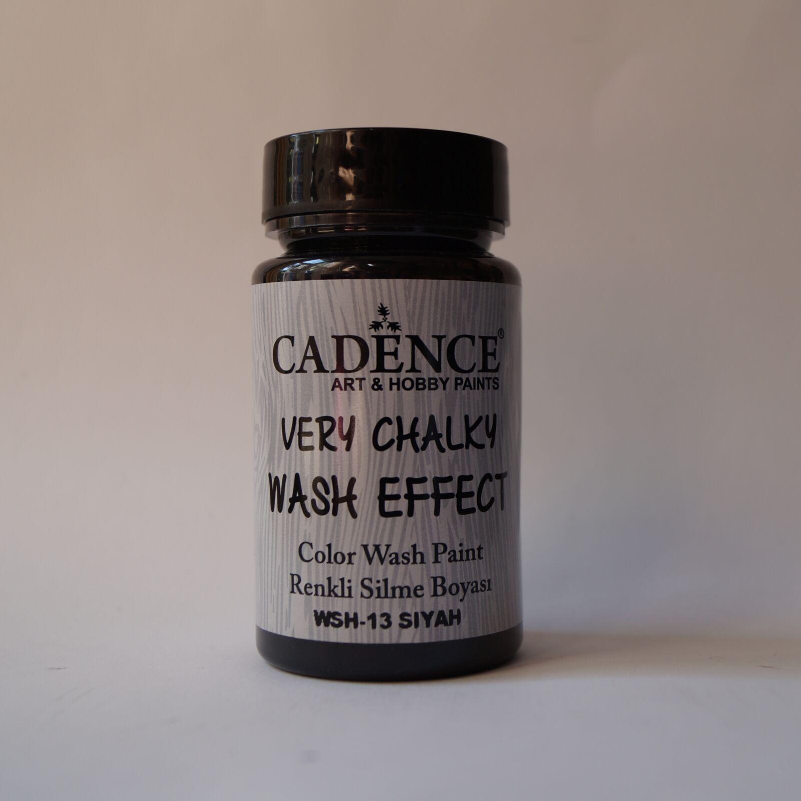 Very Chalky Wash effekt [Fekete]