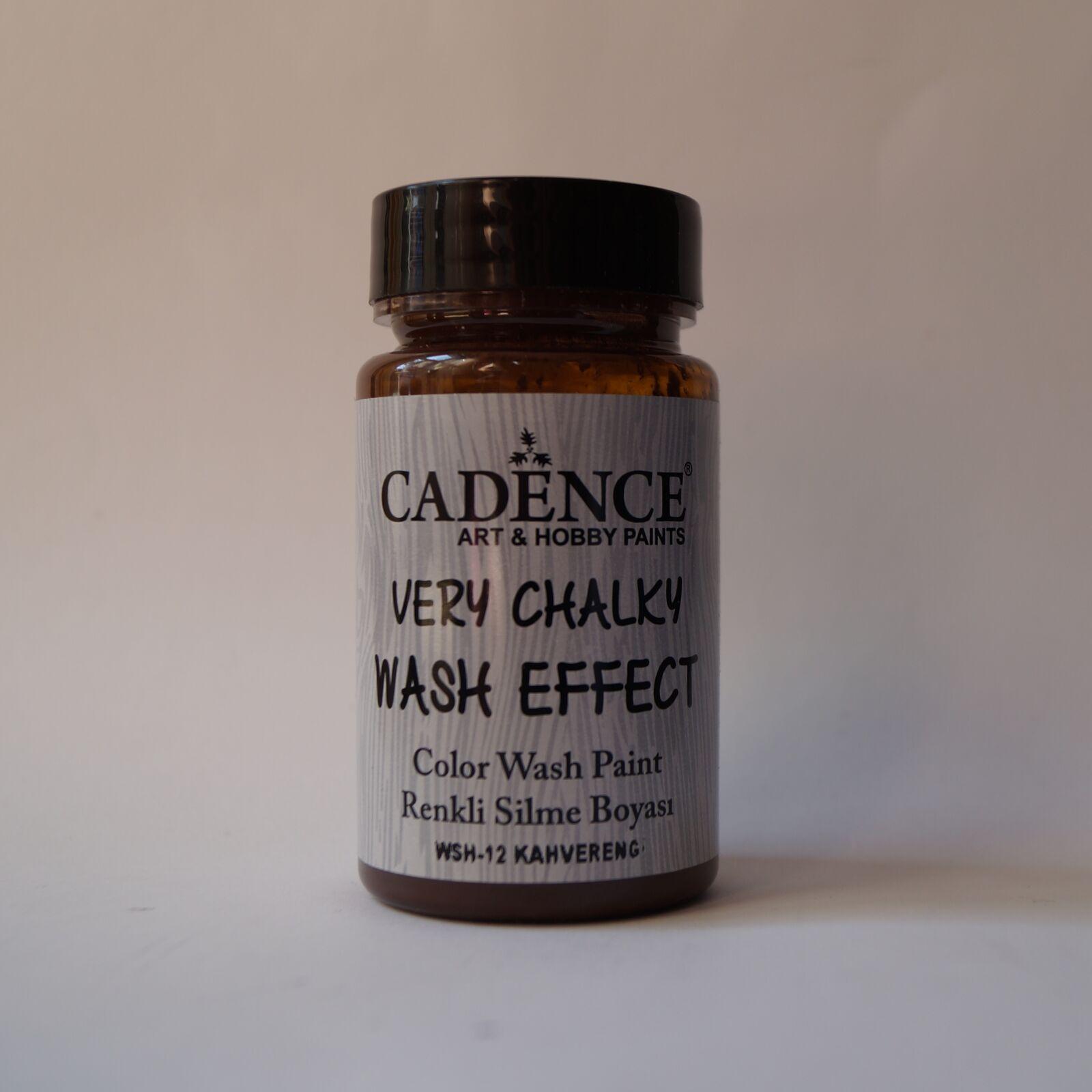Very Chalky Wash effekt [Barna]