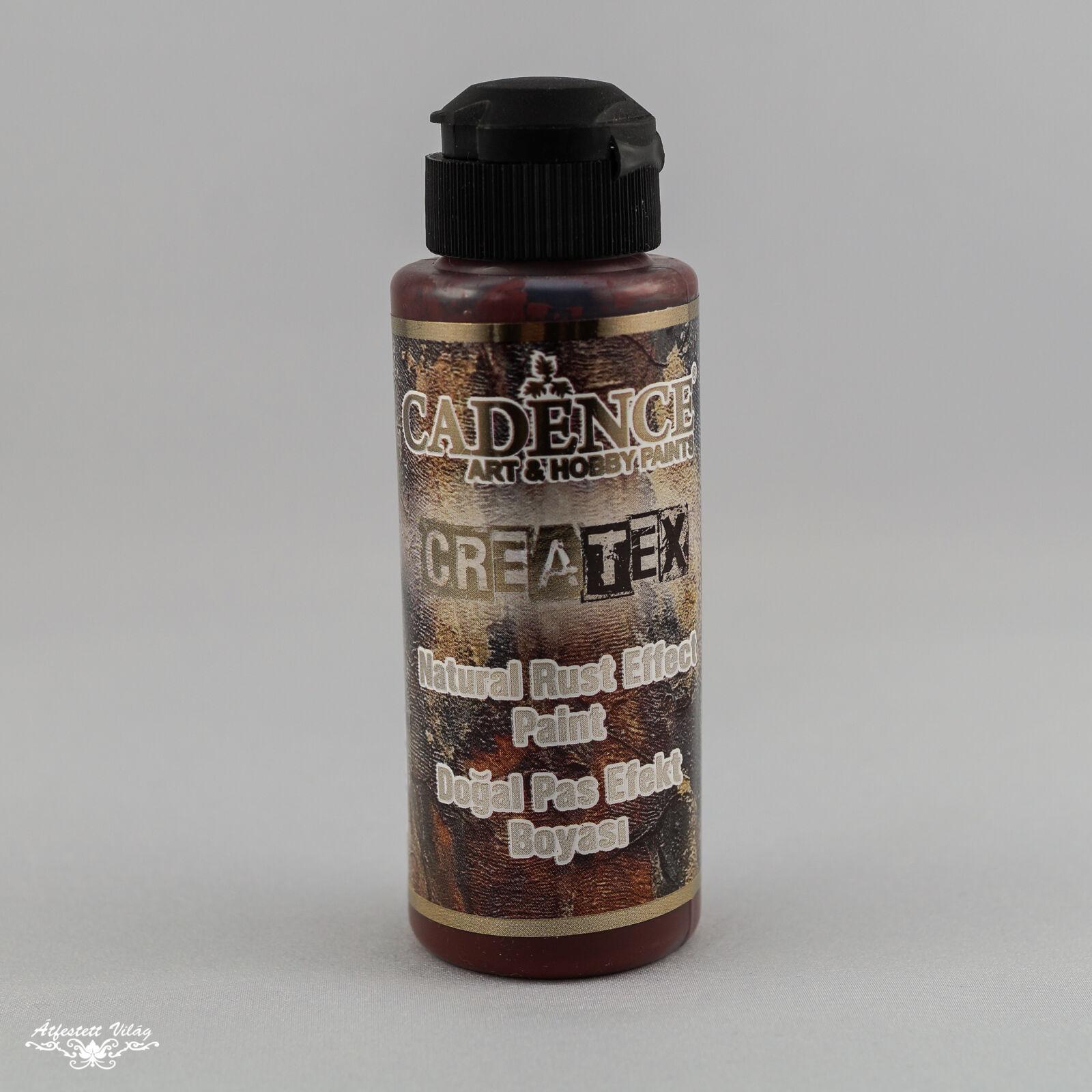 Natural rust effect paint (Createx rozsda effekt festék) 120ml