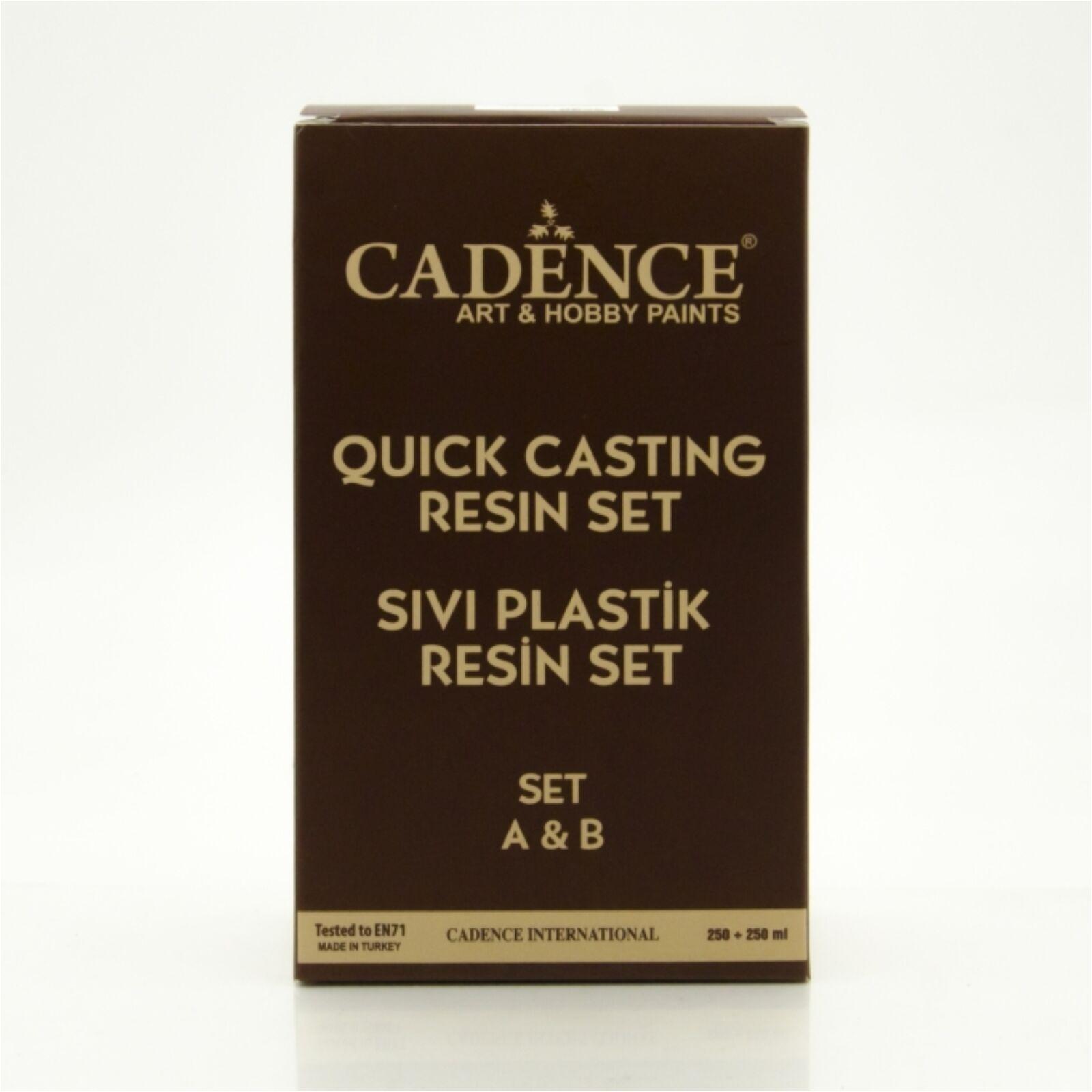 Gyors öntő gyantaszett (Quick Casting Resin Set) [250+250 ml]