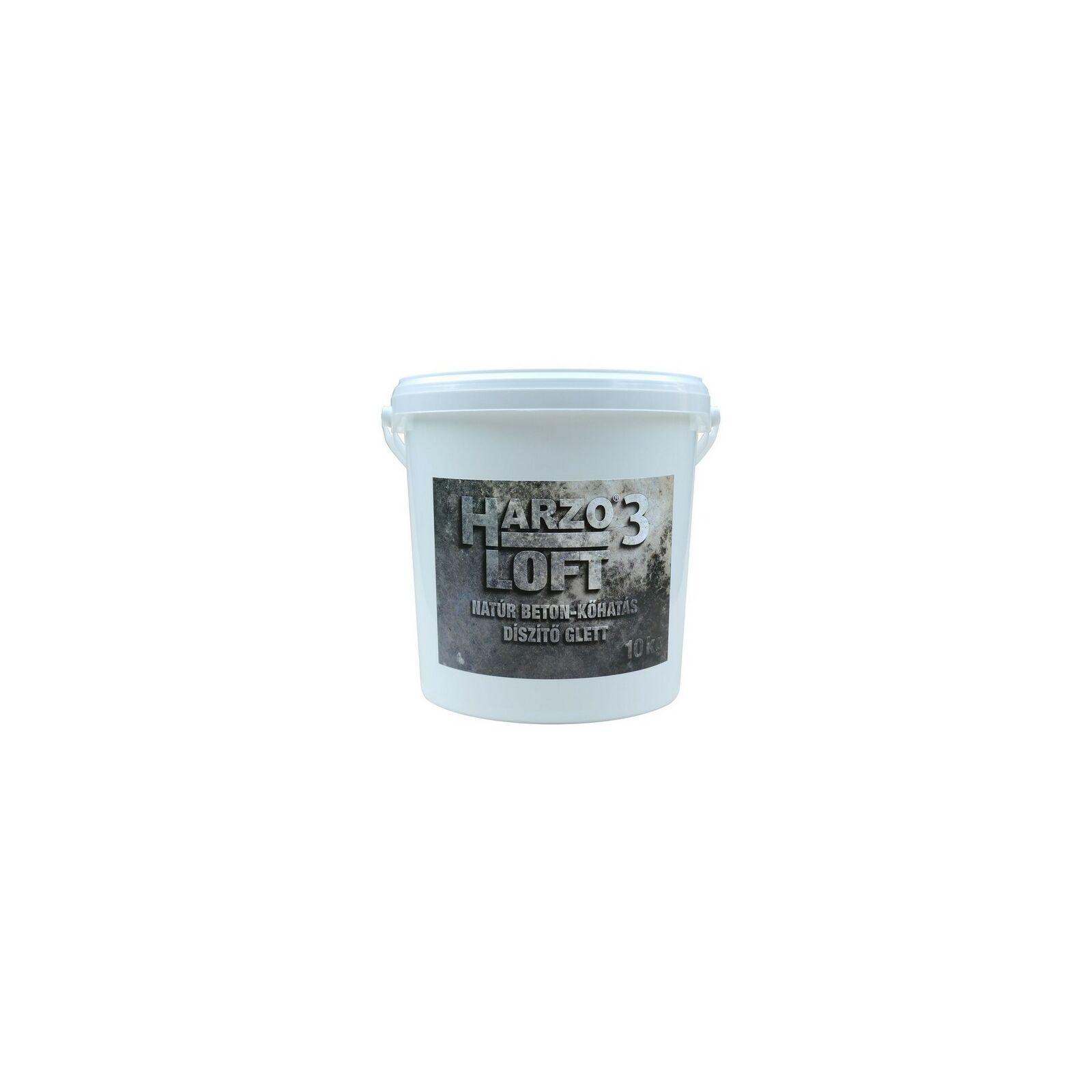HARZO 3 LOFT Natúr beton-kőhatás díszítő glett [10 kg]