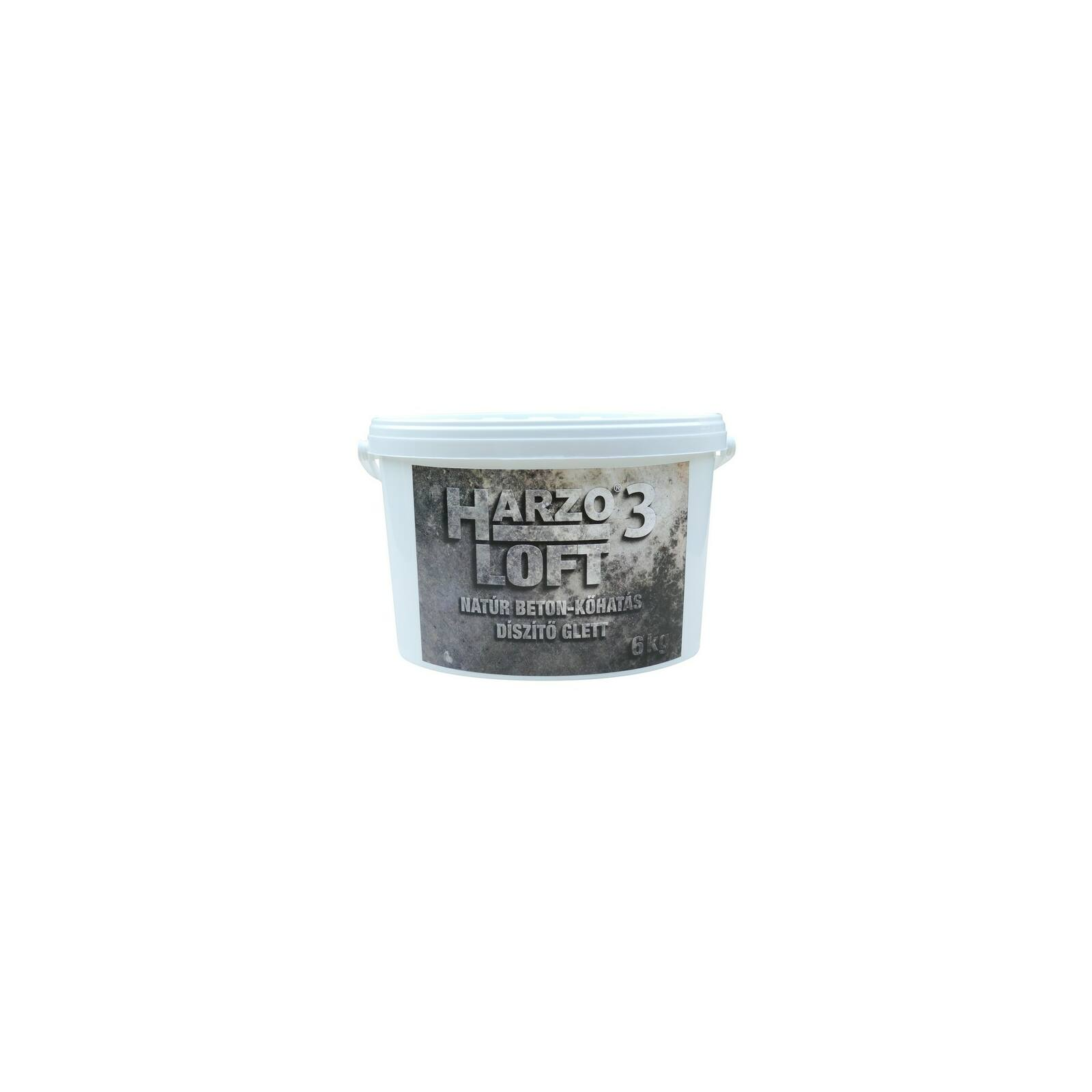 HARZO 3 LOFT Natúr beton-kőhatás díszítő glett [6 kg]