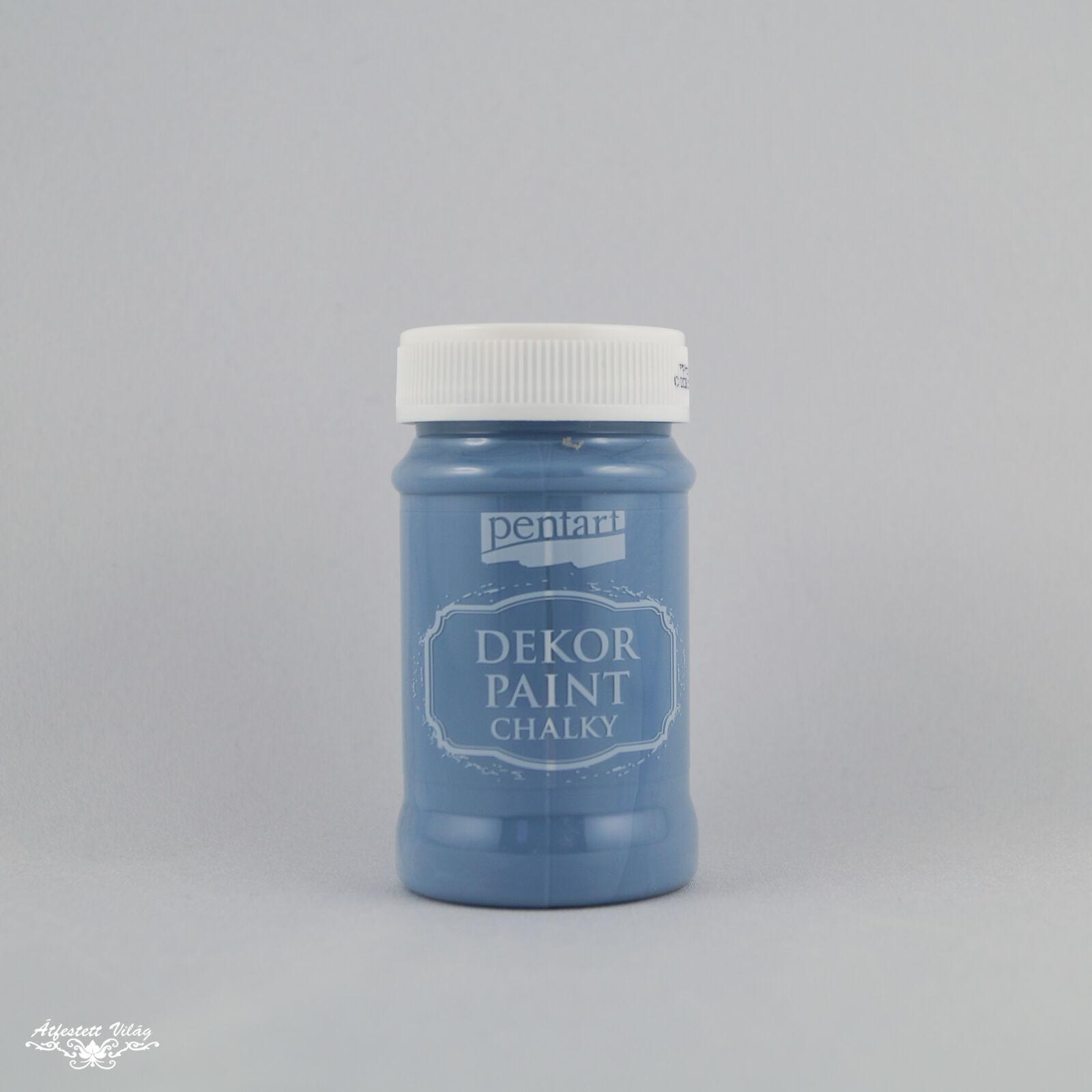 PENTART Dekor Paint - Farmerkék [100 ml]