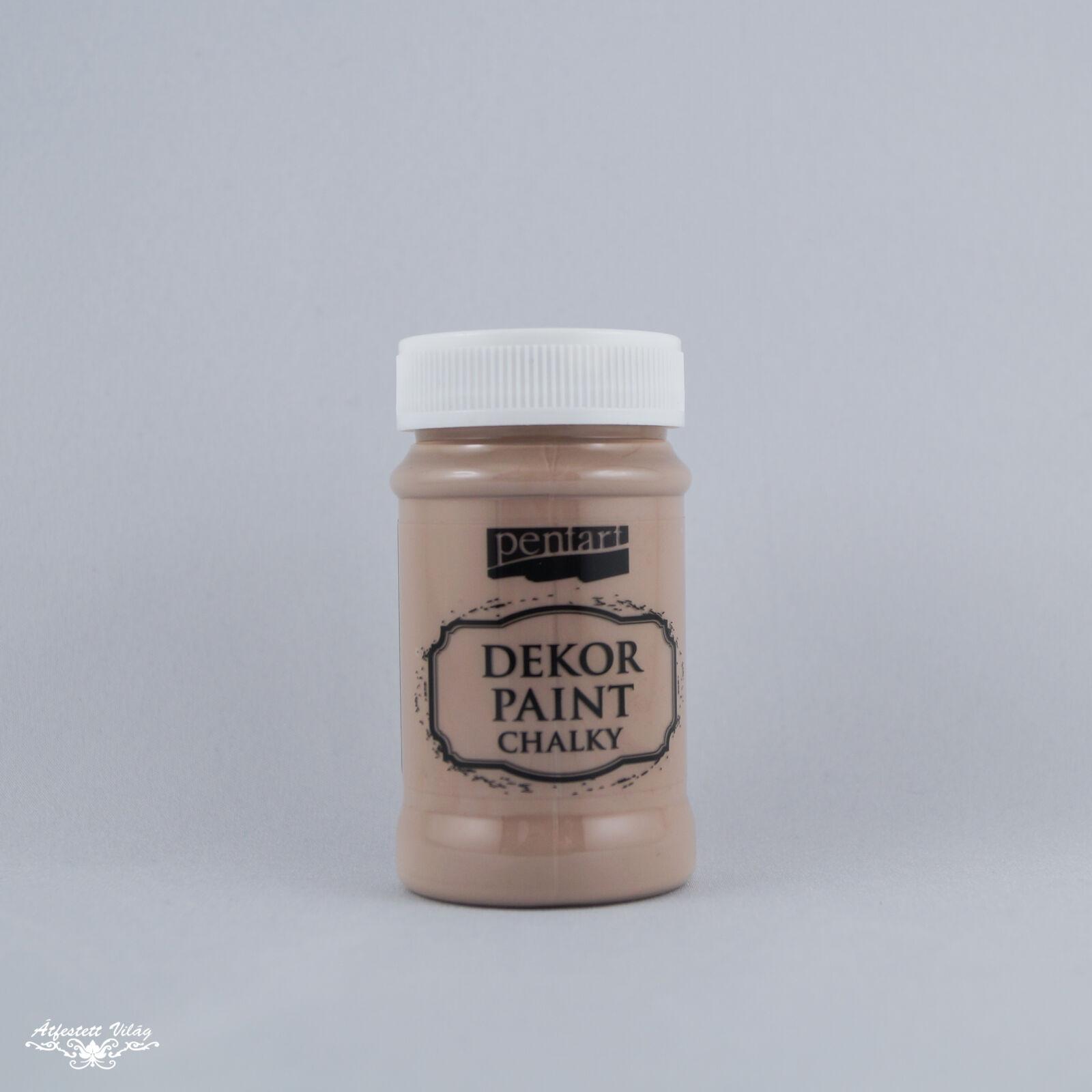 PENTART Dekor Paint - Tejcsokoládé [100 ml]