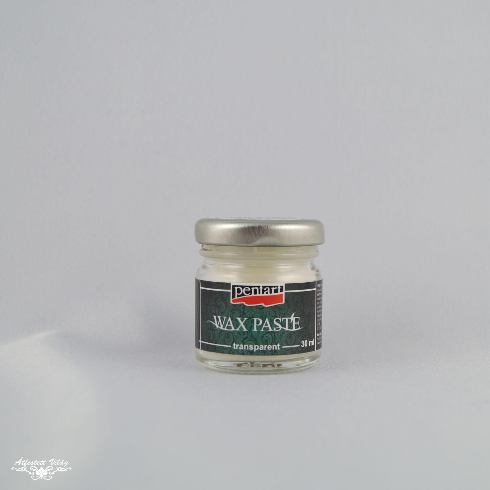 Pentart Viaszpaszta színtelen [30 ml]