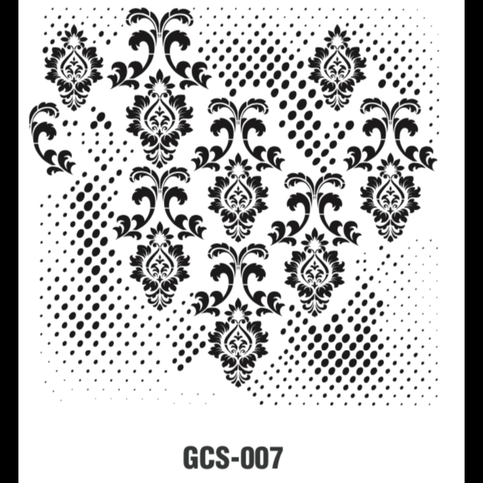 GCS007 stencil