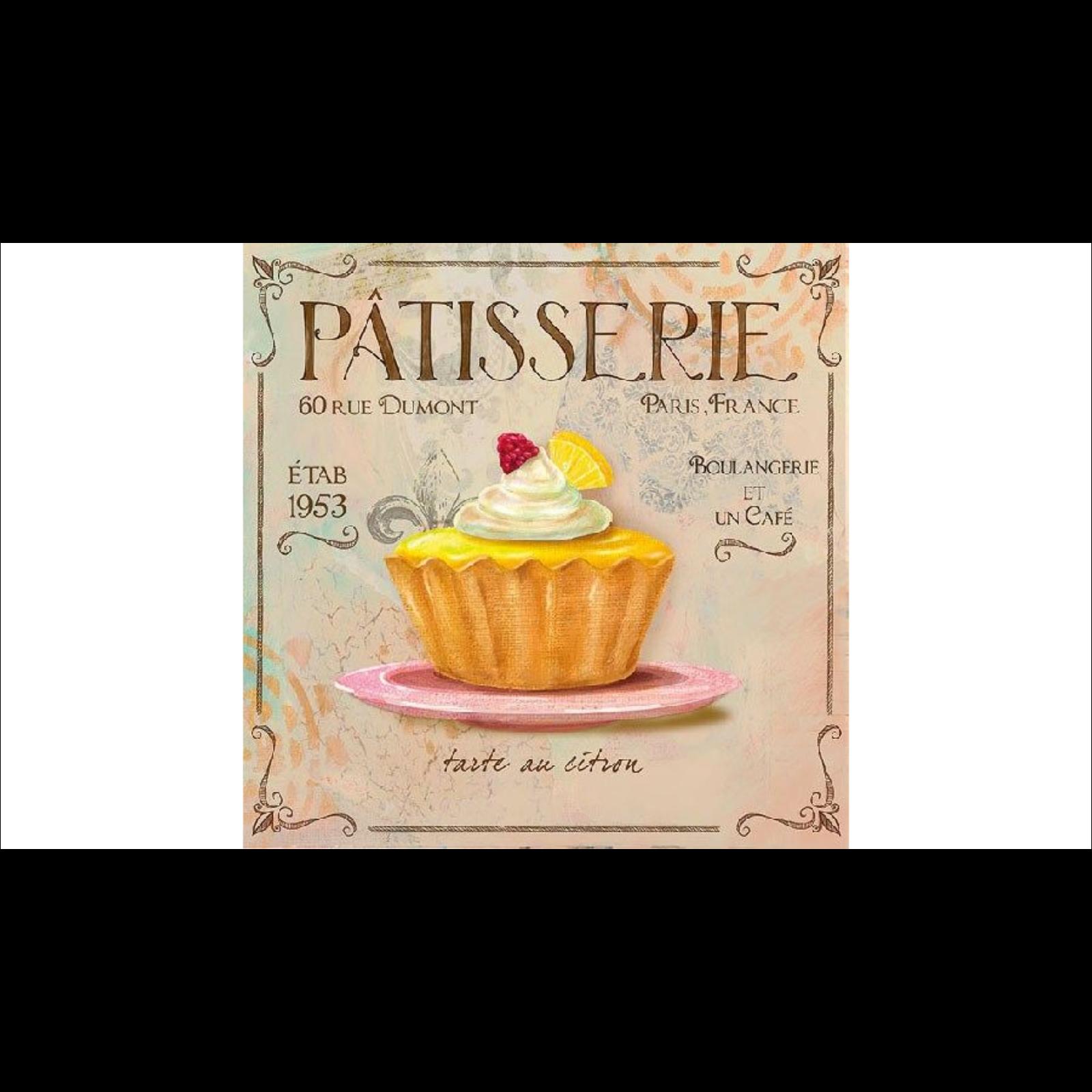 Patisserie szalvéta