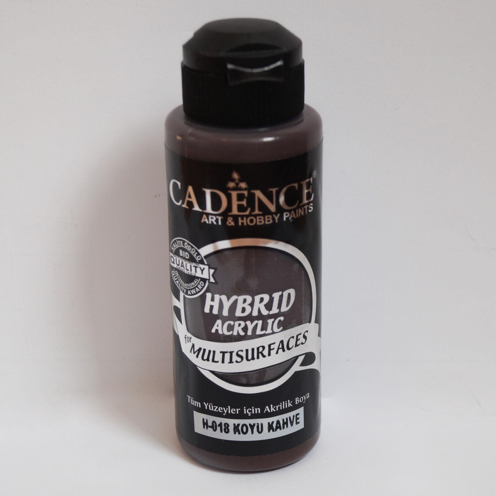 HYBRID Akrilfesték [Dark Brown] 120 ml