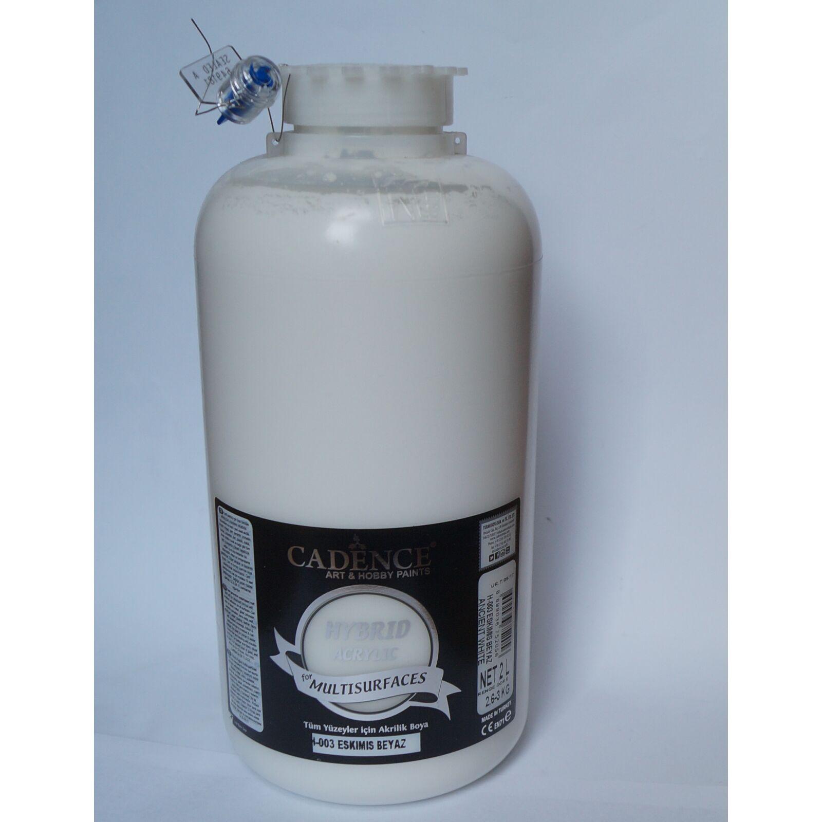 HYBRID Akrilfesték [Ancient White] 2000 ml