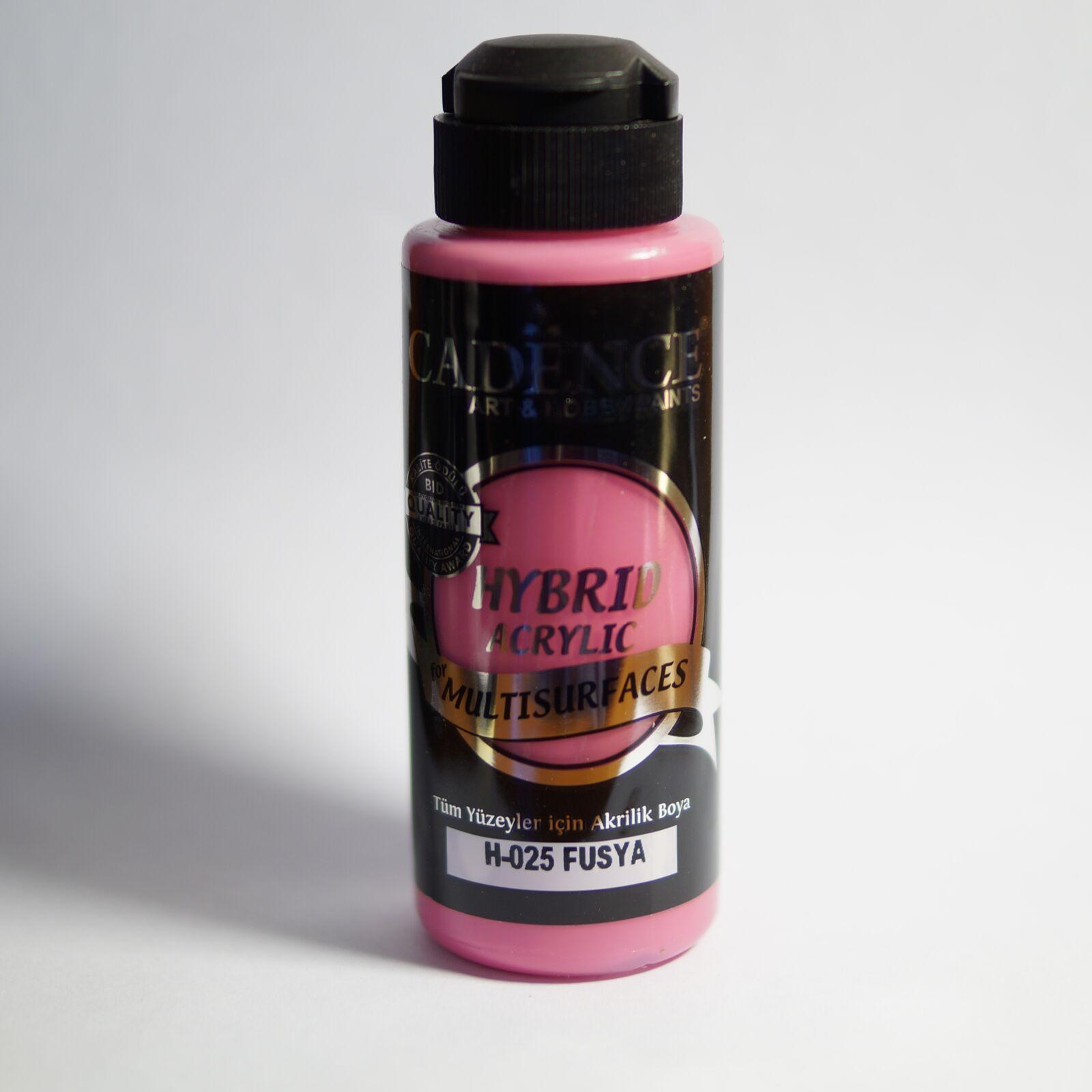 HYBRID Akrilfesték [Fuschsia] 120 ml