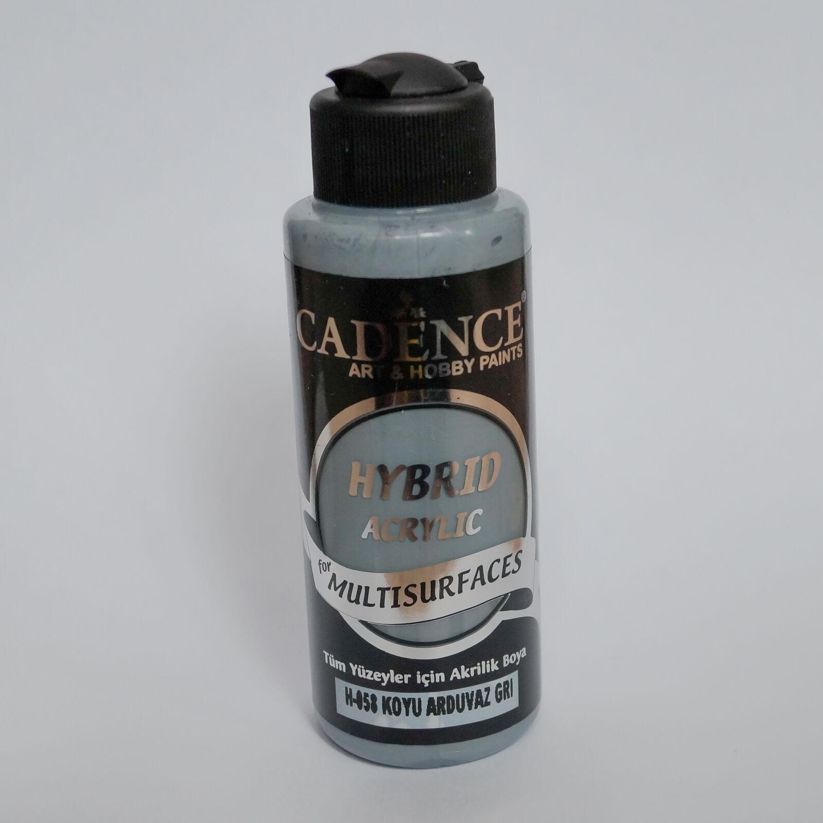 HYBRID Akrilfesték [Dark Slate Gray] 120 ml