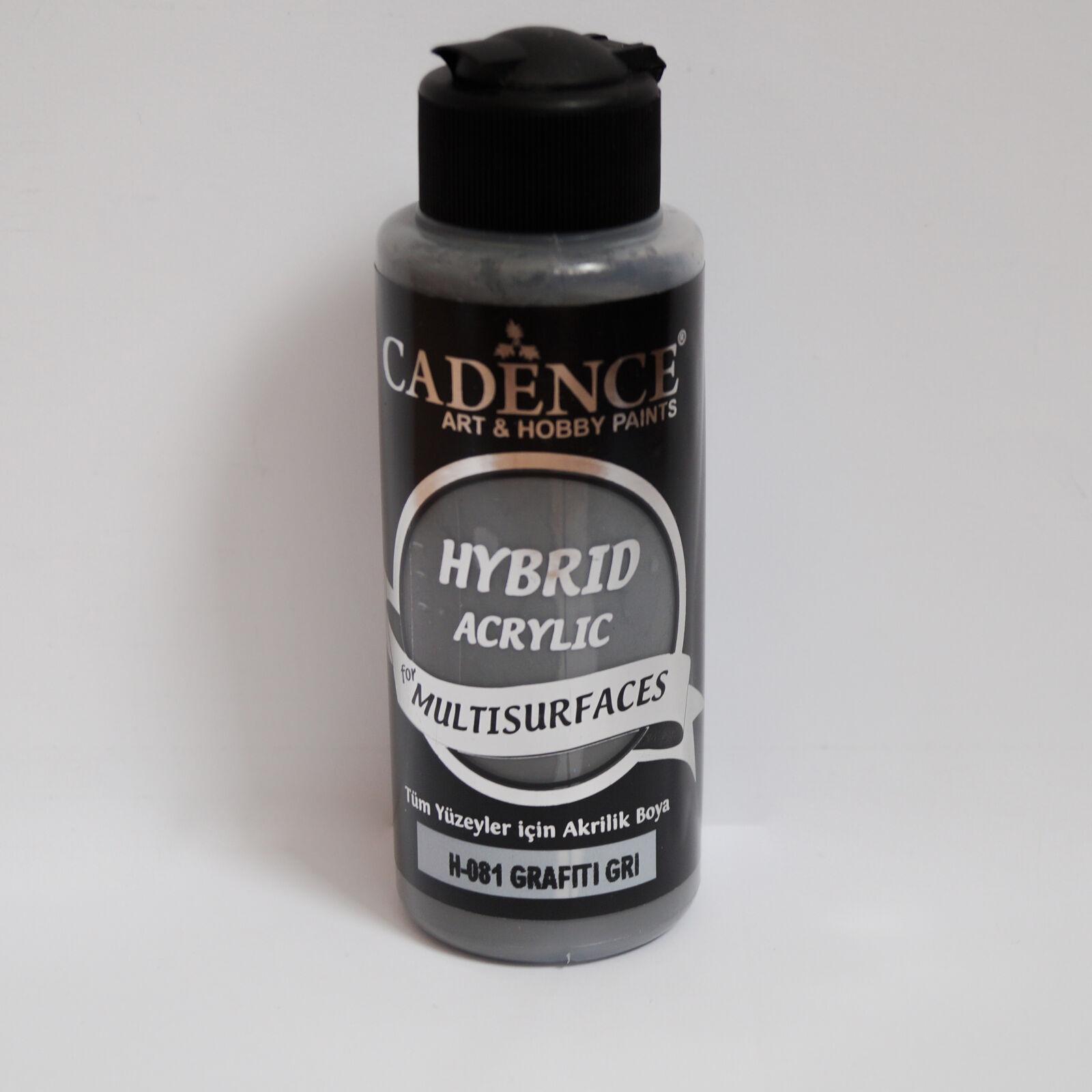 HYBRID Akrilfesték [Grafiti Gray] 120 ml