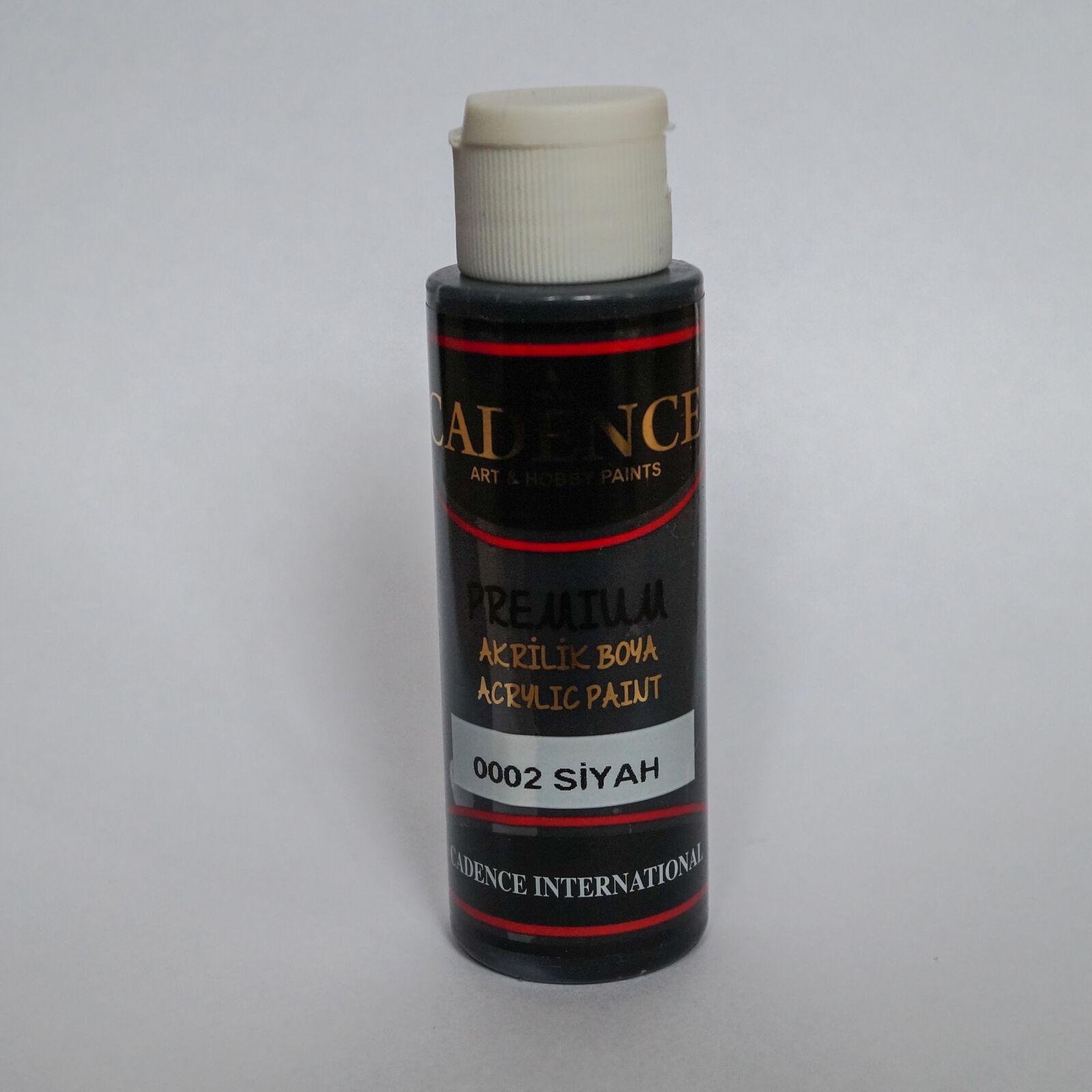 Premium akrilfesték [Black] 70ml