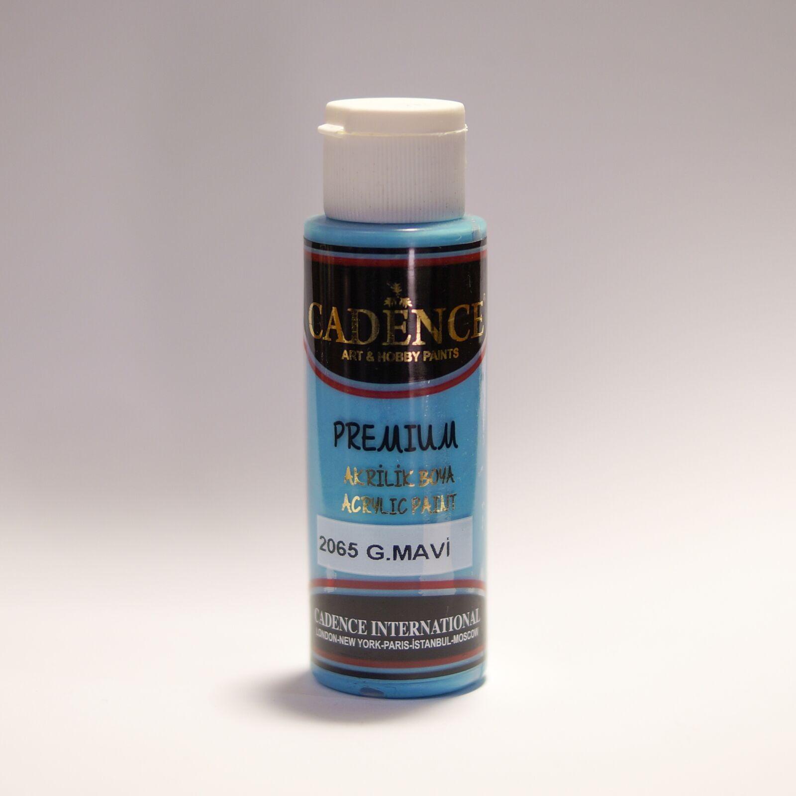Premium akrilfesték Azúr kék [G.Mavi] 70ml