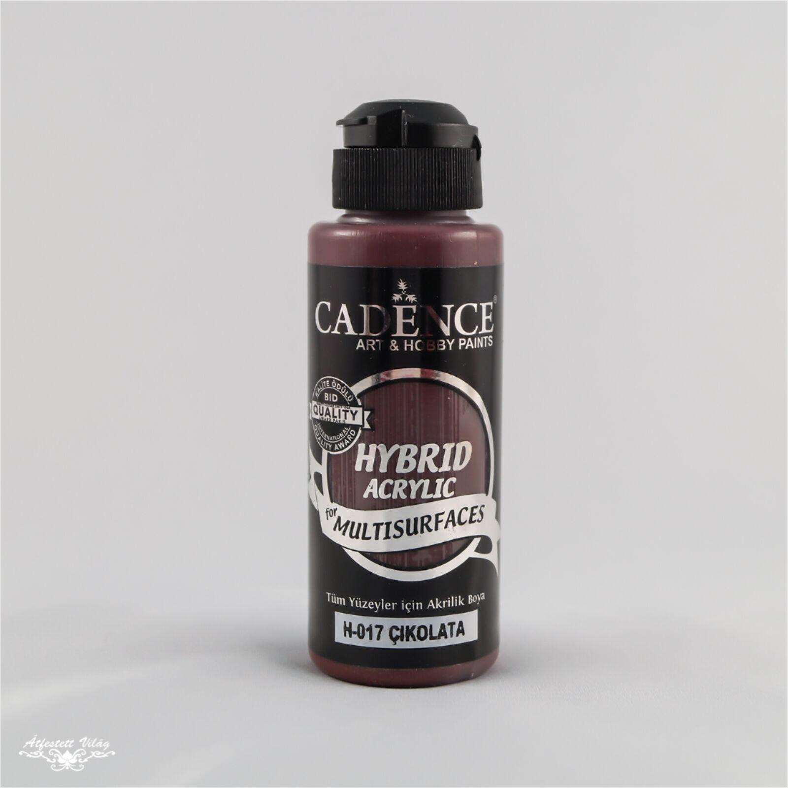 HYBRID Akrilfesték [Chocolate] 120 ml