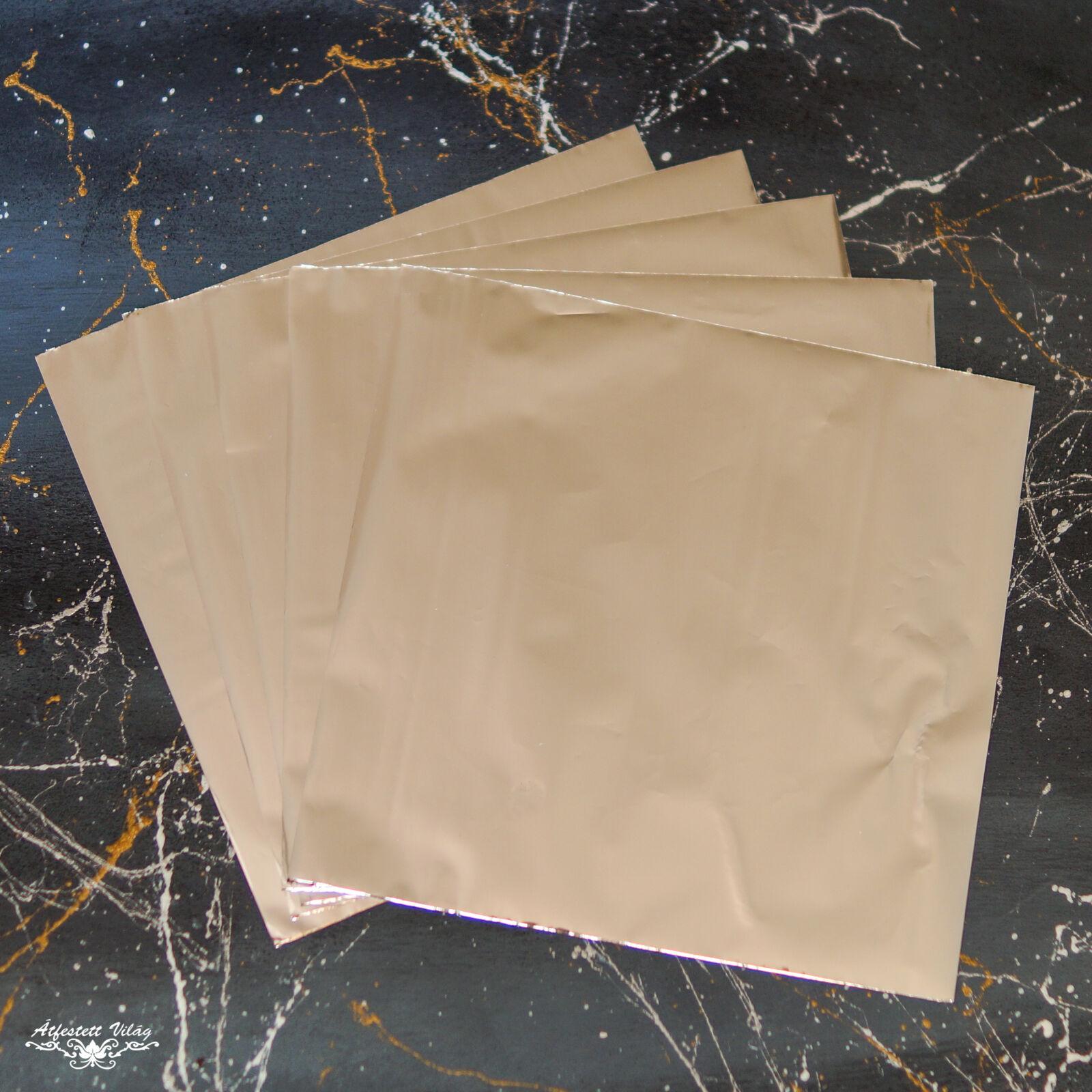 Füstfólia csomag 5 darabos [Ezüst]