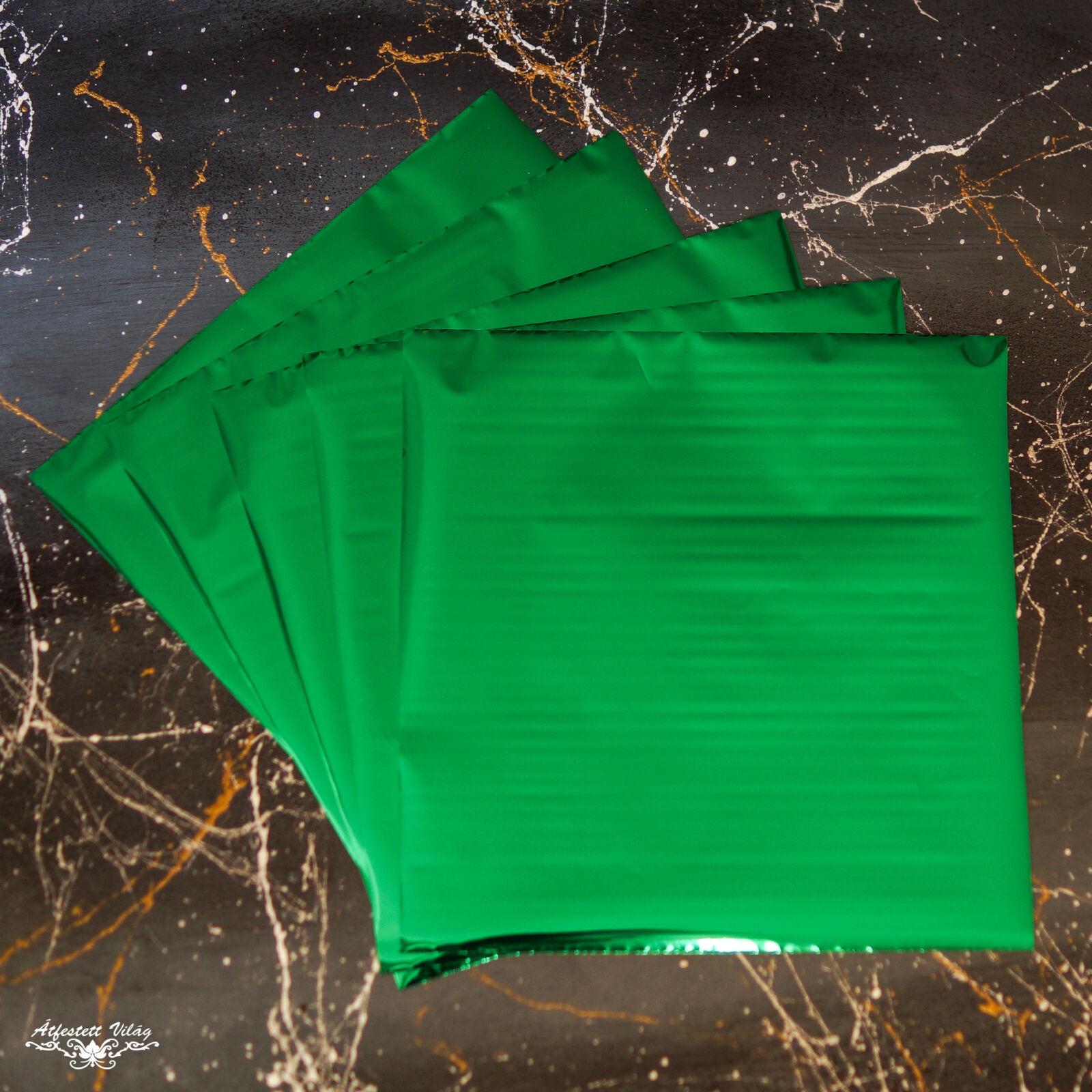 Füstfólia lap 1 darab [Zöld]