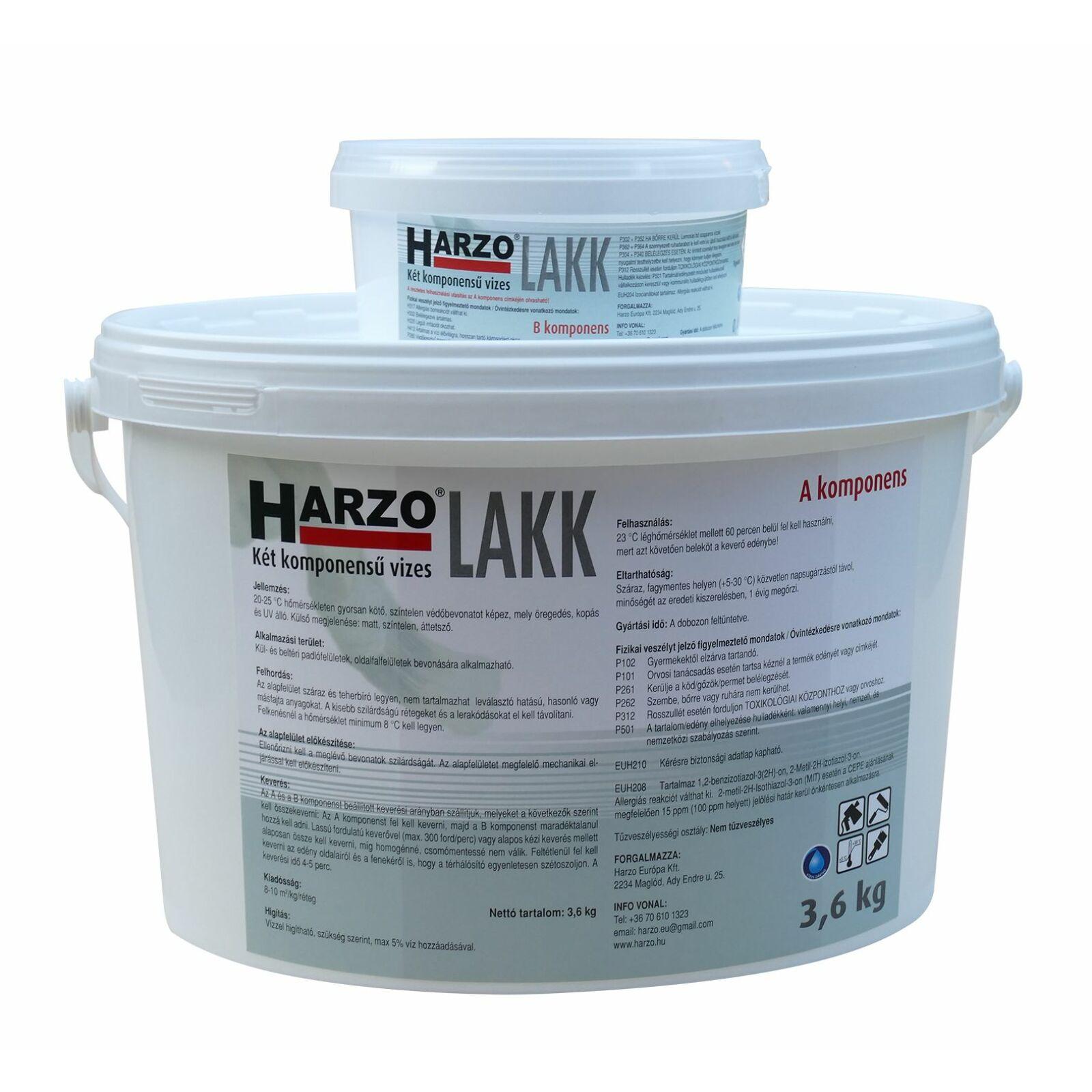 HARZO-Lakk (2 komp.A+B) Matt [4 kg]