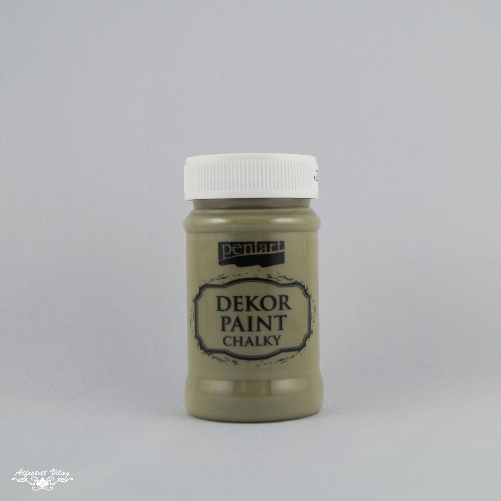 PENTART Dekor Paint - Oliva [100 ml]