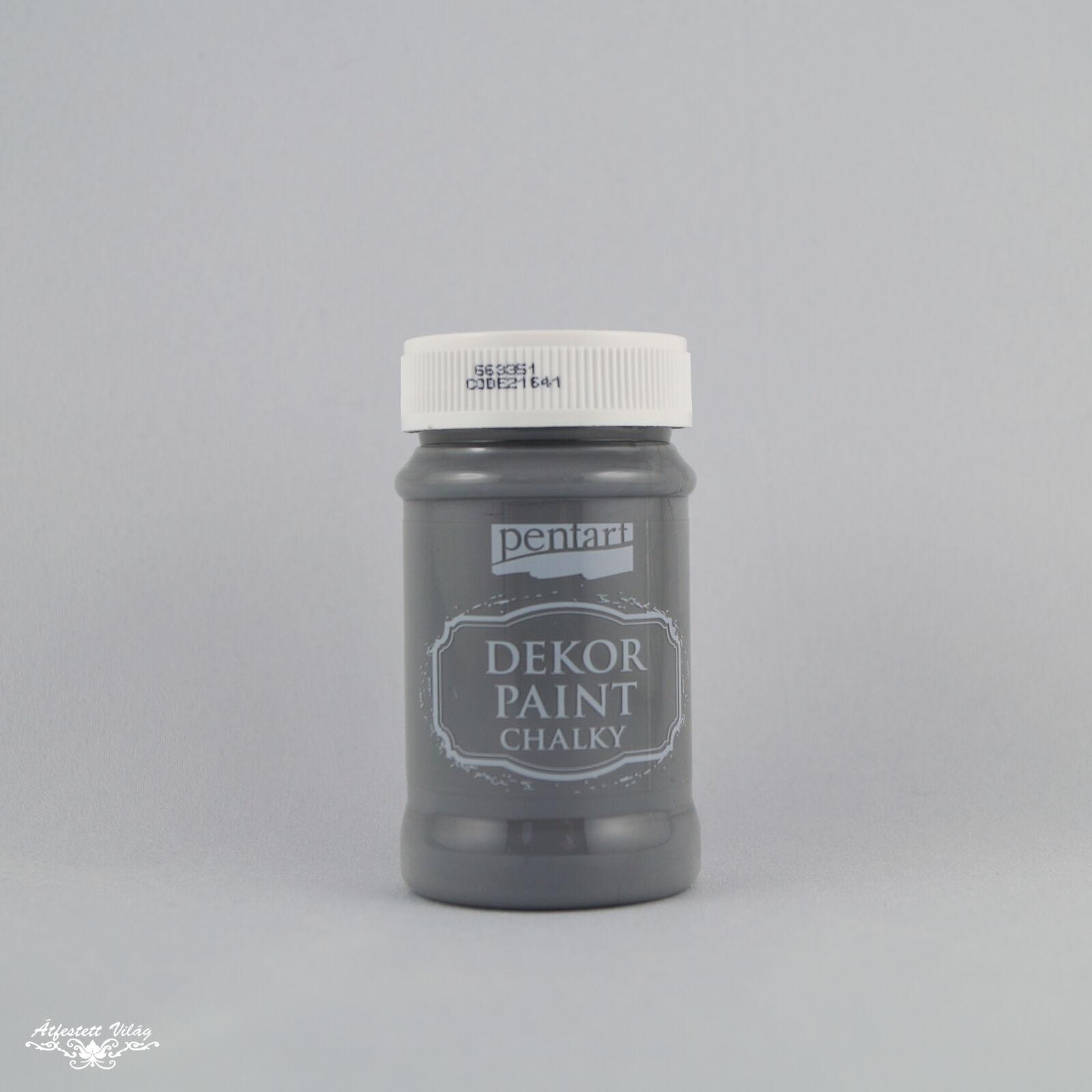 PENTART Dekor Paint - Grafit [100 ml]