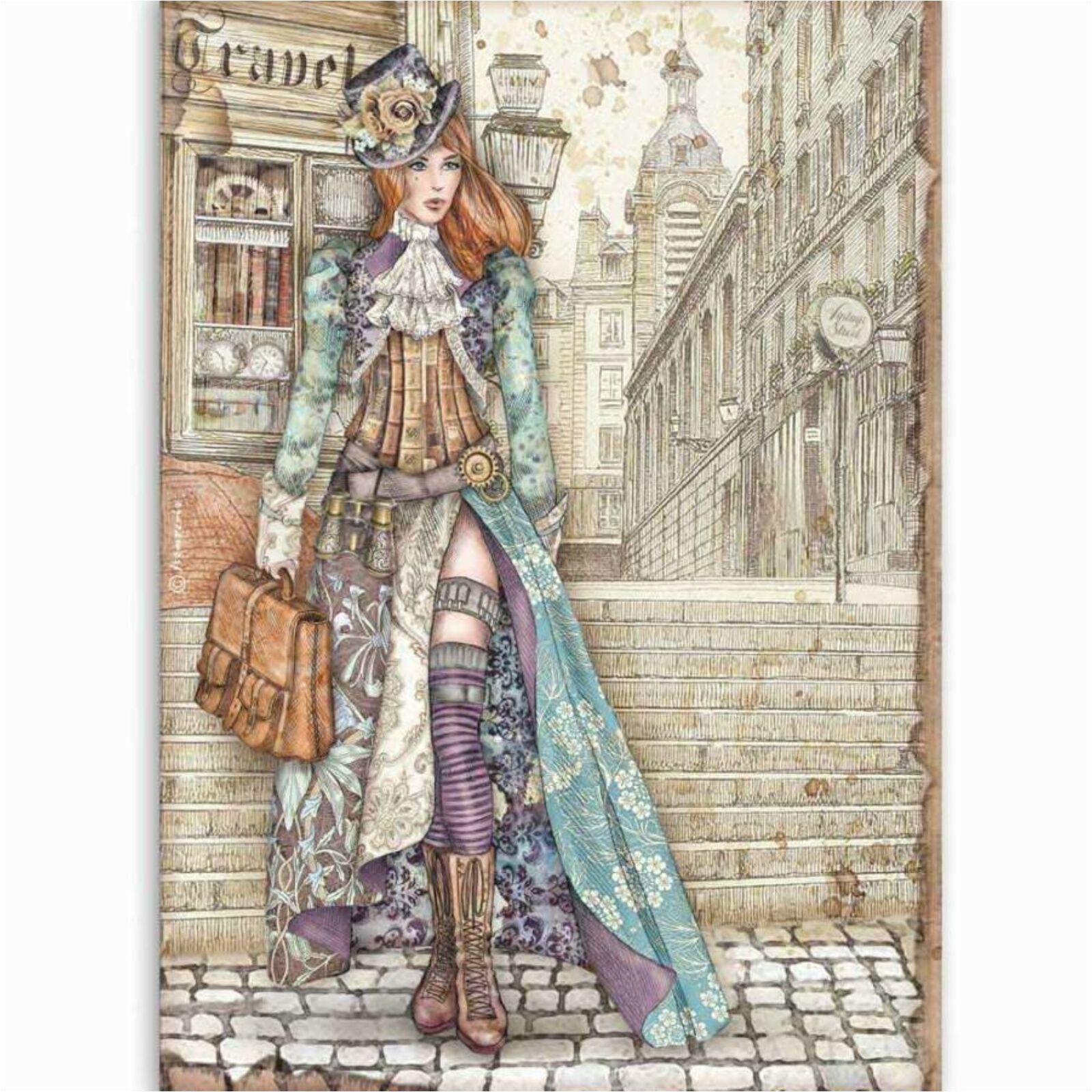 Lady Vagabond A4 [DFSA4518]