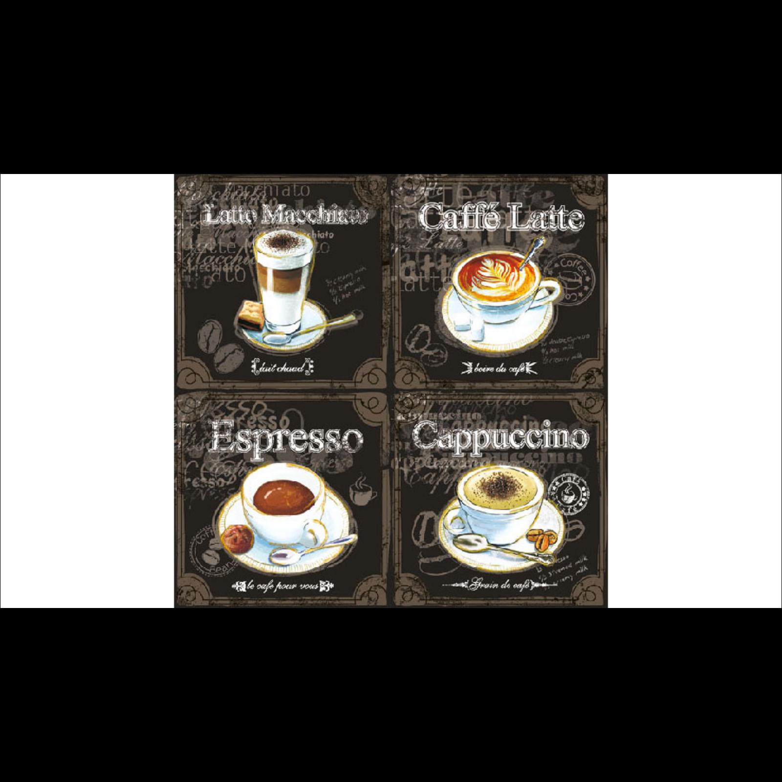 Kávés szalvéta