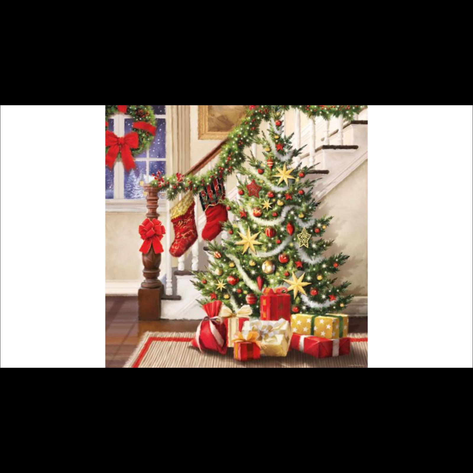 Karácsonyfa szalvéta
