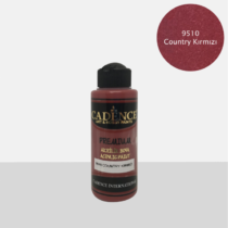 Premium akrilfesték [Country Red] 70ml