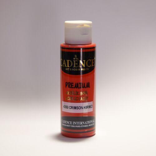 Premium akrilfesték [Crimson Red] 70ml