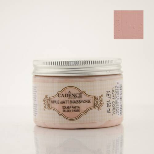 Shabby Chic relief paszta [Light Coral] 150 ml